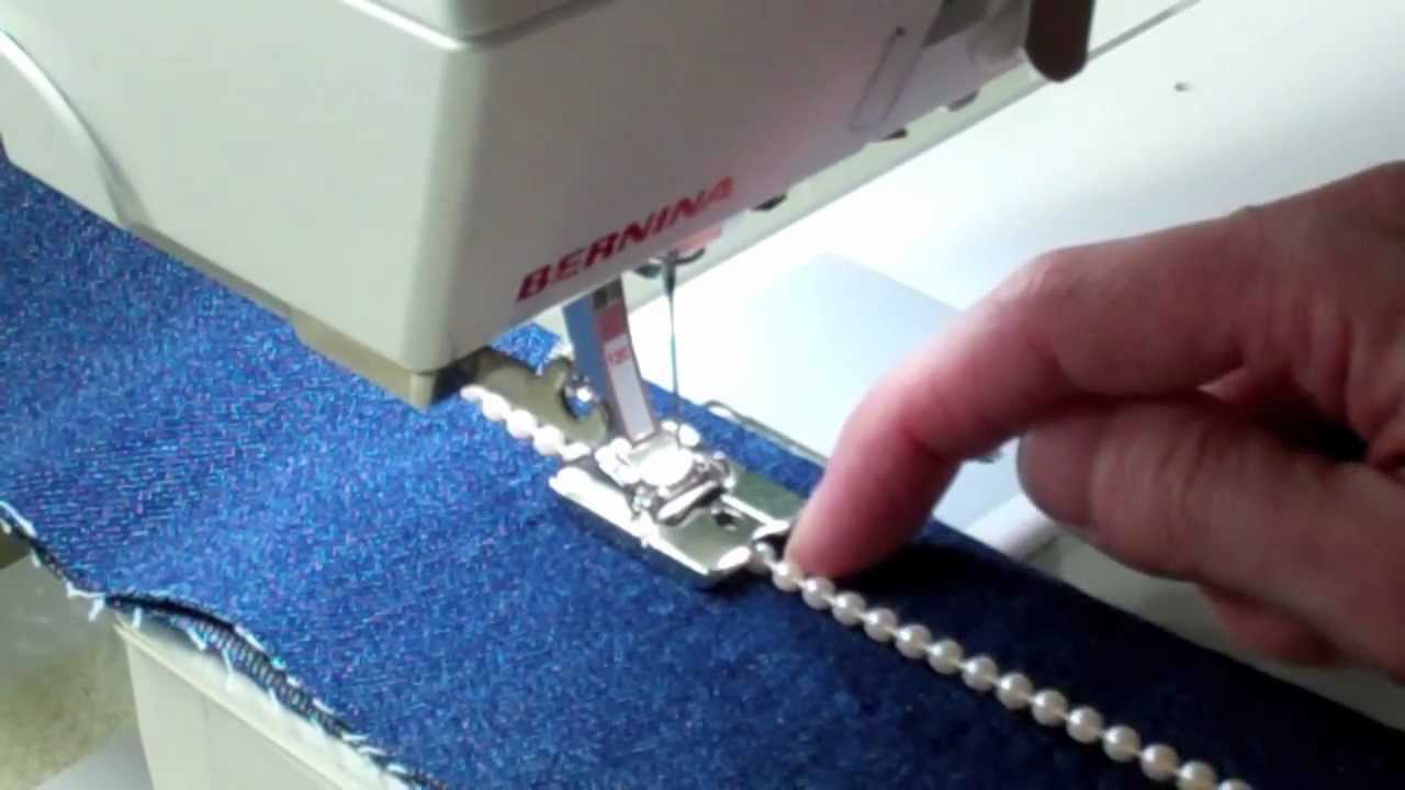 sewing machine cording foot