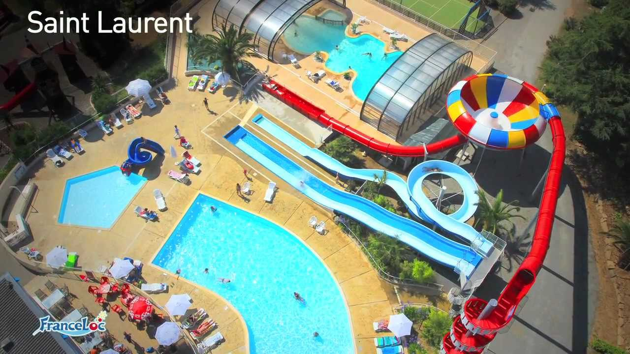 Camping 4 le saint laurent camping en bretagne avec for Piscine st meen le grand