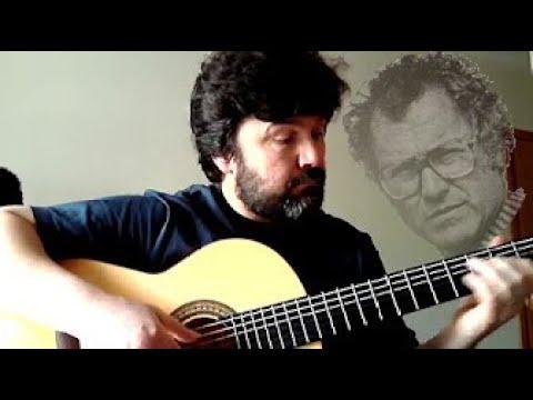 Guitarra espanhola - Venham mais 5 (Zeca Afonso)
