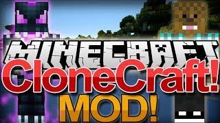 Minecraft: Mod Showcase: CloneCraft MOD 1.7.2 / 1.6.4