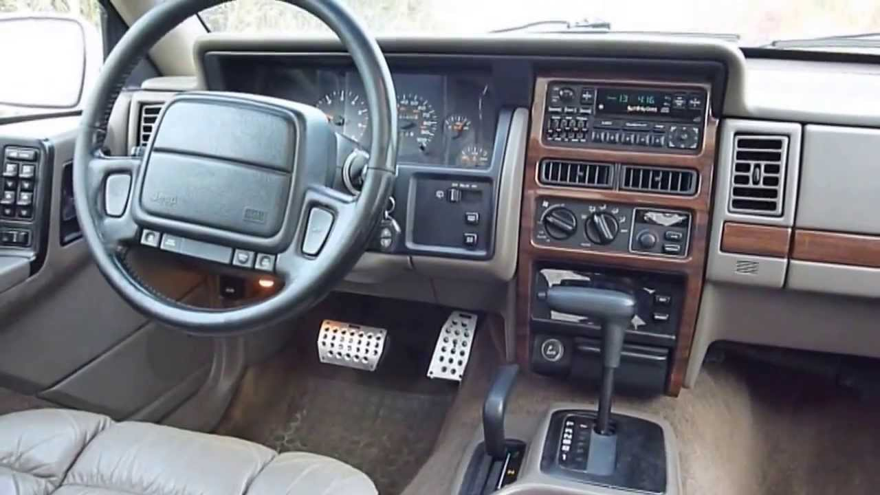 Jeep Grand Cherokee 5 2 Ltd 1995
