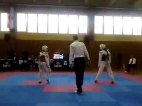 Dora Beronić vs. Ana-Marija Žalac (21:14) - finalna borba - Duga Resa, Sv. Nikola 07.12.2013.