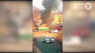 Пожар на шиномонтаже локализован