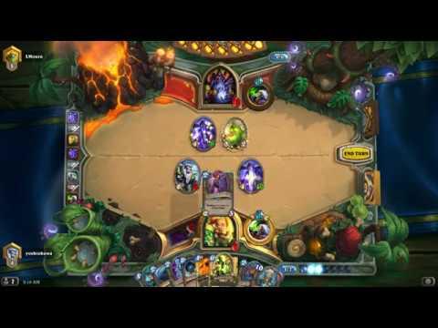 hearthstone mechathun Even warlock Deck Gameplay