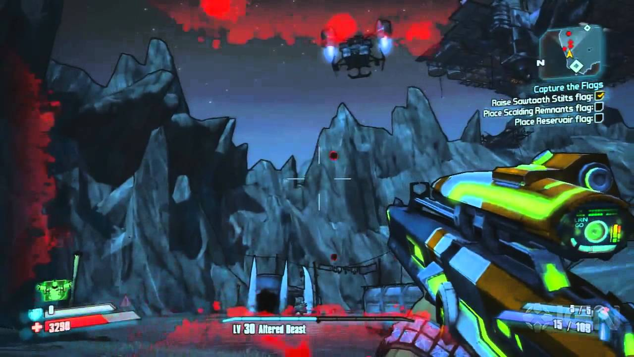 Borderlands 2 Walkthrough - Capture the Flags - Side ... Borderlands 2 Walkthrough