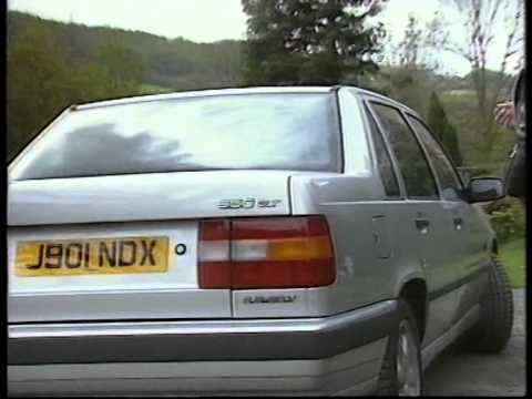 Jeremy Clarkson tests the new Volvo 850 GLT. Top Gear, 30th april 1992