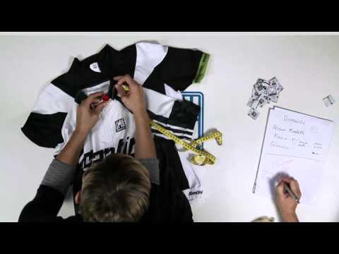 SANTINI Making of a jersey