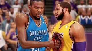 NBA 2K14 Next Gen MyCareer KD Tries To Rip Out My Heart