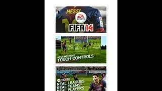 FIFA 14 Unlock All Mode+unlimited Money Apk+data