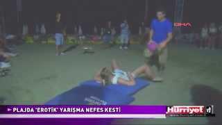 PLAJDA 'EROTİK' YARIŞMA