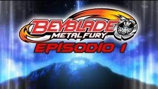 "[BeyBlade Metal Fury] Episódio #1 ""Fragmentos Da Estrela"