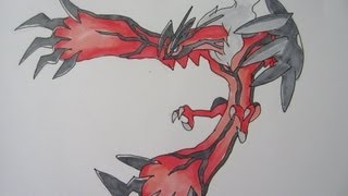 [Tutorial] How To Draw Yveltal From Pokemon Y