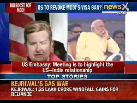 Breaking News: US Embassy confirms Narendra Modi and Nancy Powell meeting - NewsX
