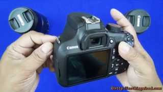 Canon EOS 1200D Rebel T5 Unboxing & Full Review: Features