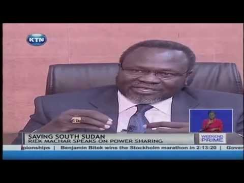 Riek Machar rules out power sharing with Salva Kiir