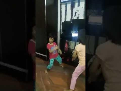 two  cute little indian  girl   desi dance | haryanvi song | dance  | 2017