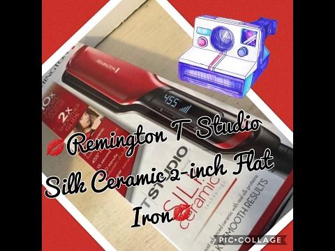 Remington Alaciadora super efectiva / T Studio Silk Ceramic 2-inch Flat Iron