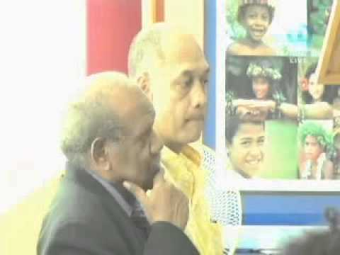 PIDF Launch on Fiji TV News