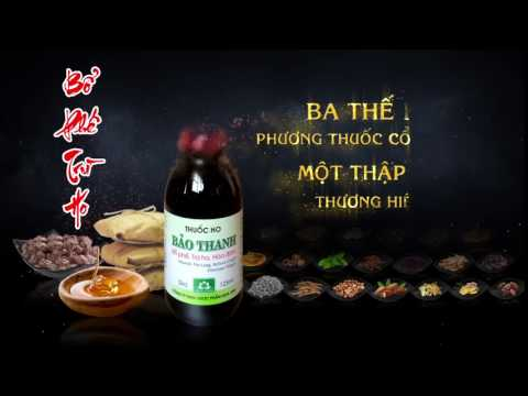 TVC 5S THUỐC HO BẢO THANH