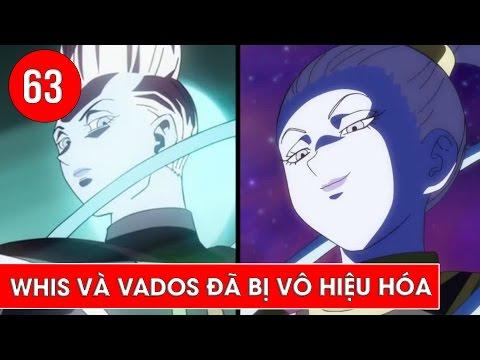 Dragon Ball Super tập 63 : Whis và Vados đã bị vô hiệu hóa trong tương lai