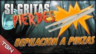 """DEPILACIÓN A PINZAS - """"SI GRITAS PIERDES"""" (Hide and Seek)"""