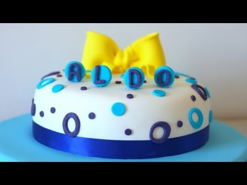 come decorare in modo semplice una torta youtube