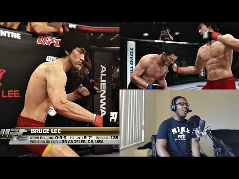 EA Sports UFC PS4 Online Gameplay FACECAM - Bruce Lee is Too Deadly for UFC!!