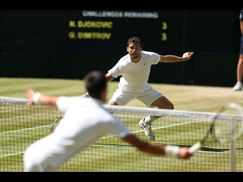 Highlights Day 11: Djokovic beats Dimitrov to reach Wimbledon 2014 final