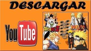 Como Descargar Dragon Ball Z Vs Naruto Mugen