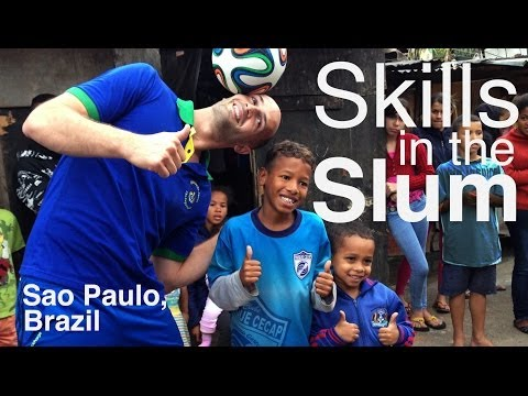 SKILLS IN THE SLUM - Daniel Cutting in Brazil