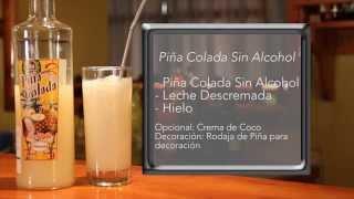 Piña Colada Sin Alcohol, Piña Colada