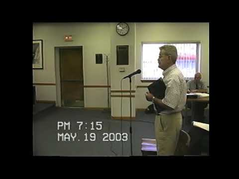 Rouses Point Village Board Meeting 5-19-03