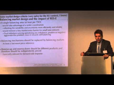 Prof. Carlos Batlle: Towards a Better Integration of the EU Electricity Market