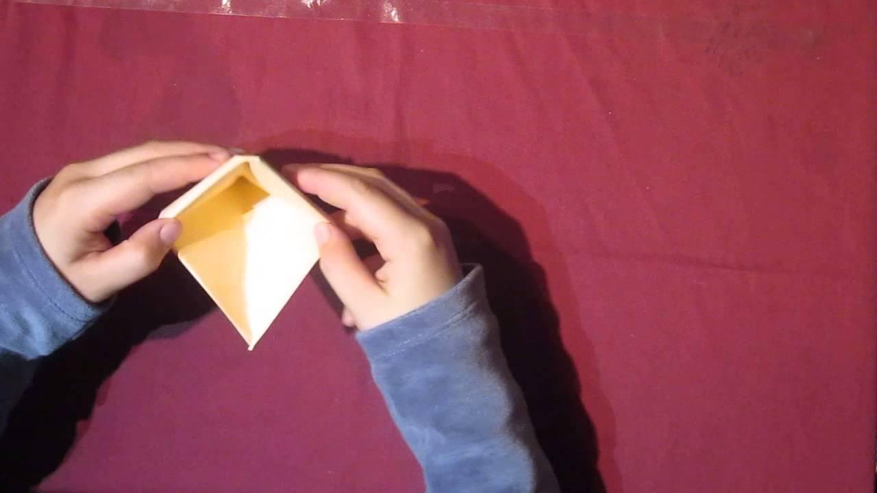 origami boot frosch und hut in einen zum selber basteln youtube. Black Bedroom Furniture Sets. Home Design Ideas
