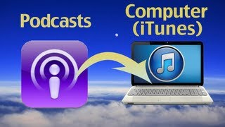 How To Export Podcasts To ITunes Or New Computer By
