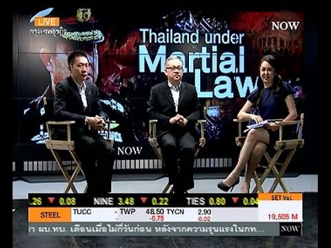 THAILAND UNDER MARTIAL LAW