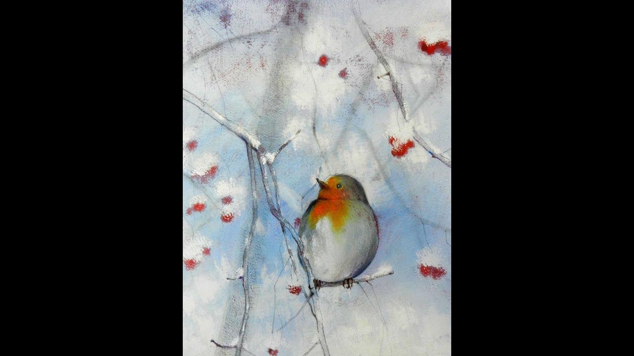 Tutorial inverno 01 come realizzare un dipinto con le for Immagini da copiare a mano