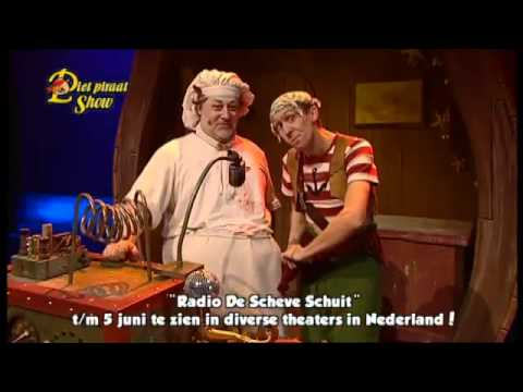 Trailer Piet Piraat Show Radio Scheve Schuit Youtube