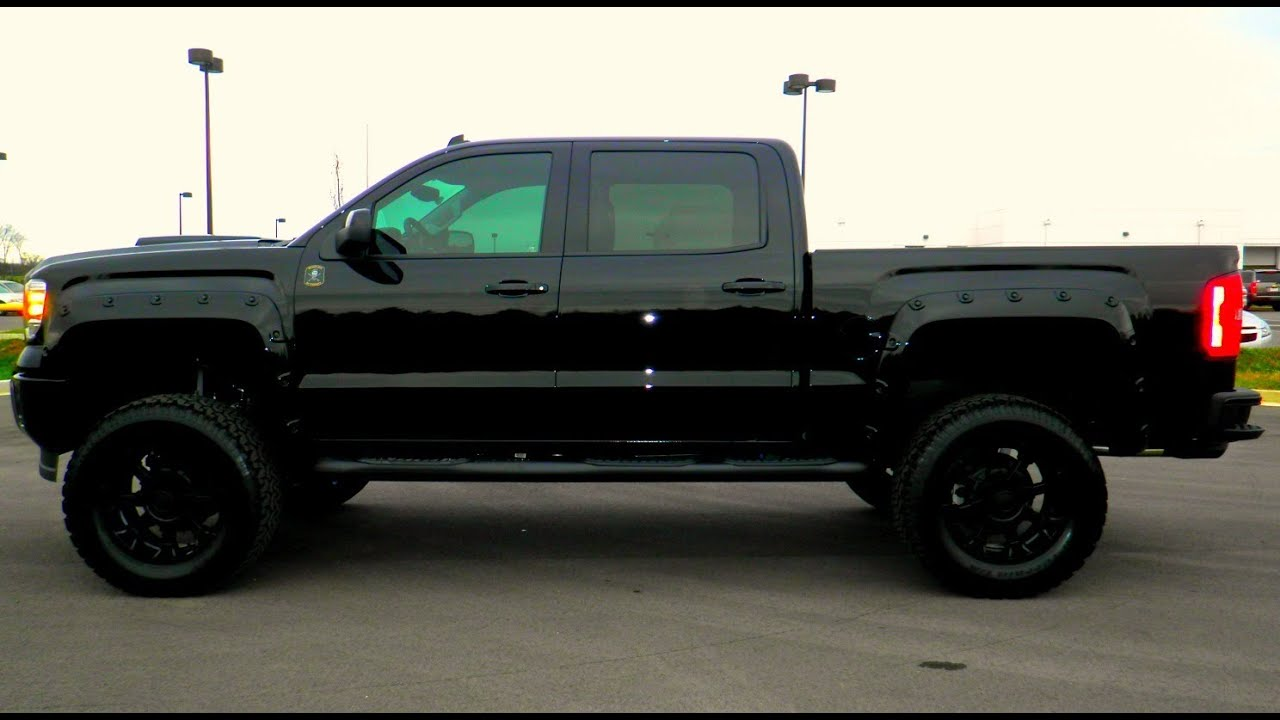 2015 GMC Sierra Black Ops Edition