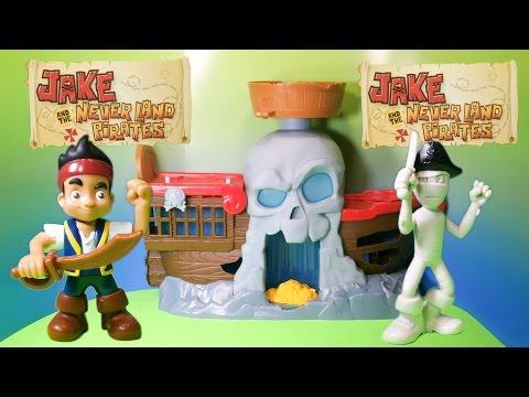 JAKE AND THE NEVER LAND PIRATES Disney Junior Jake's Batle of Shipwreck Falls a Disney Video