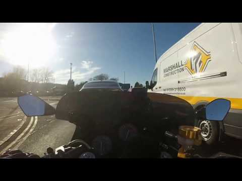 Honda Cbr 600 F2 Motorbike Road Trip Edinburgh to Glasgow (Reda Barral)