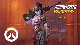 Overwatch: Widowmaker Gameplay Preview