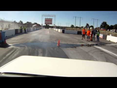 RFBOOM VN V6 at Summernats 26 Cruise the burnout pad goes too wild