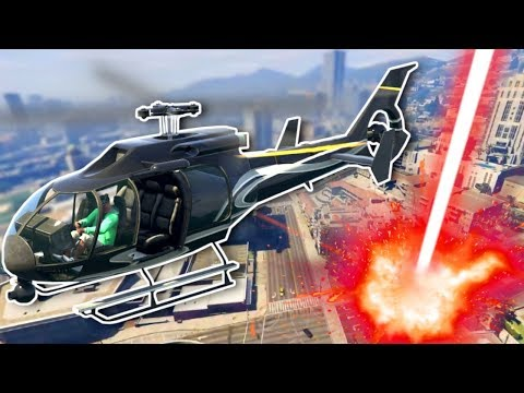 Helicopter Heist Avenged by Orbital Cannon! - GTA 5 Online Gameplay & Funny Moments