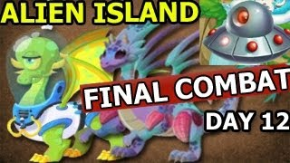 Dragon City ALIEN ISLAND Space Trip And FINAL