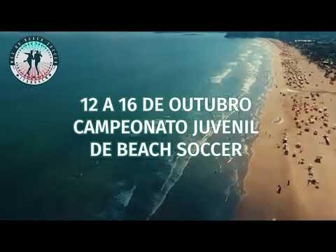 Os jogos acontecerão sempre de quarta à domingo a partir das 16h na Praia da Boca da Barra. Entrada franca.