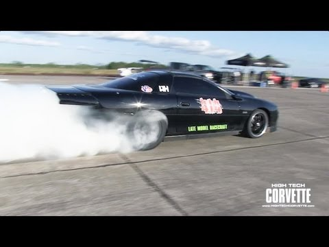 Spinning the Tires Over 200mph - Monster Power