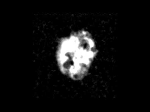 Neutral (HI) gas in a simulated dwarf galaxy (mock observation)