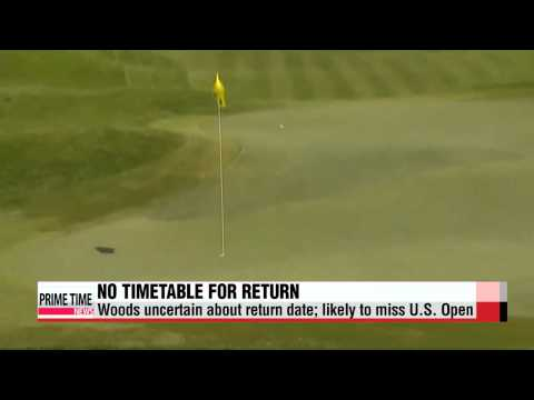 Golf: Tiger Woods unable to give timetable for return