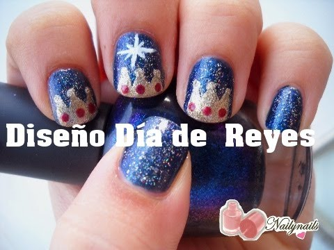 Reyes Magos Diseño Uñas - Three Wise men Nails